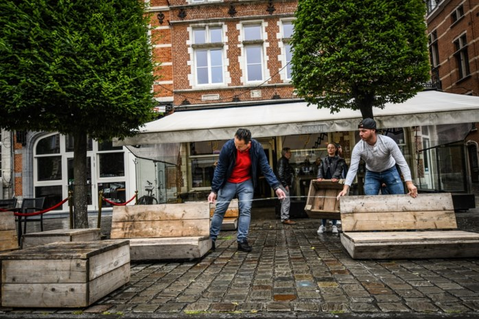 Tetris voor gevorderden: stad stelt individuele maatregelen op voor de meer dan 600 horecazaken