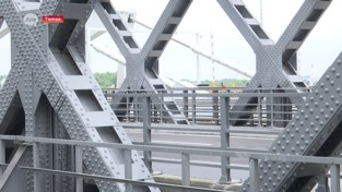 Oude en nieuwe Scheldebrug Temse vanaf morgennamiddag allebei weer open voor verkeer