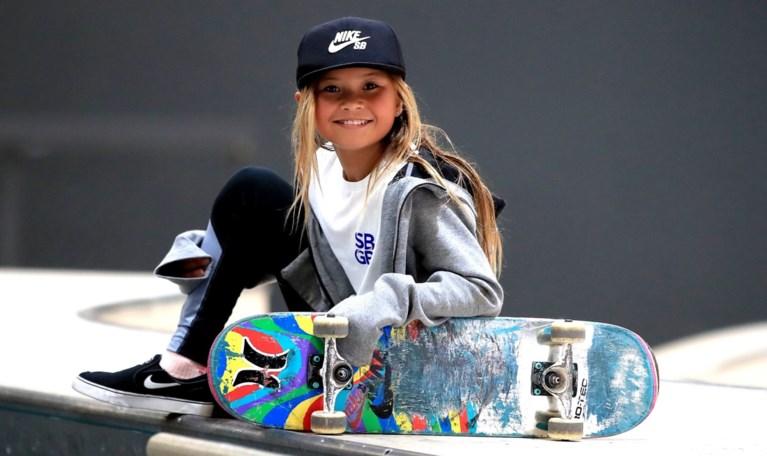 """Fenomeen van 11 jaar (en in de pocket van Nike) maakt doodsmak: """"Mijn helm en arm hebben mijn leven gered"""""""