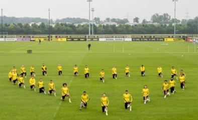 Ook Axel Witsel en Thorgan Hazard knielen op training tegen racisme