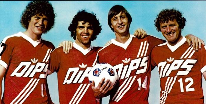 """De Amerikaanse jaren van Juan Lozano en Swat Van Der Elst: """"Met Mick Jagger en Pelé in de kleedkamer"""""""