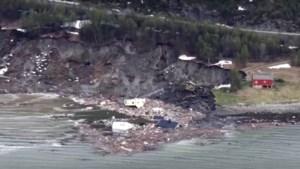 Noorse huizen slaan op drift door aardverschuivingen