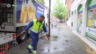 Brouwerij Alken Maes druk in de weer om cafés te bevoorraden.