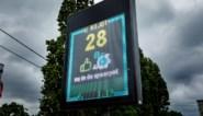 Snelheidsmeter in Bonheiden beloont goed gedrag: geld in spaarpot als bestuurder zich aan limiet houdt
