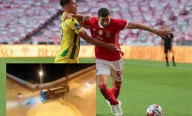 """Bus van Benfica bekogeld na eerste match sinds herstart, twee spelers afgevoerd naar het ziekenhuis: """"Criminele actie"""""""