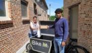 Ibra (19) begint pakjesdienst met cargofiets