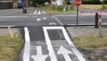 Eerste markeringen aangebracht en verkeersborden aan Leireken geplaatst