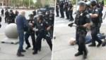 """New Yorkse agenten geschorst nadat ze 75-jarige man hard tegen de grond duwen tijdens betoging: """"Schandelijk"""""""