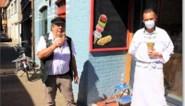FOTO. Aanschuiven voor een lekker ijsje bij Crèmerie 't Peurke