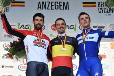 Thomas De Gendt stond al eens op een BK-podium. In 2022 opnieuw in eigen dorp?