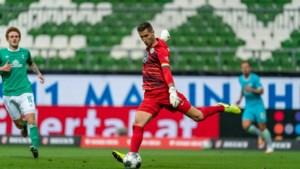 Koen Casteels pakt met Wolfsburg in extremis volle buit bij kelderploeg Werder Bremen