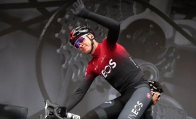 Chris Froome schenkt handgel aan ziekenhuis dat hem behandelde na val in Dauphiné