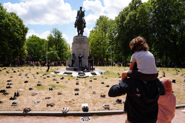 850 betogers op protestactie tegen racisme: organisatoren riskeren GAS-boete