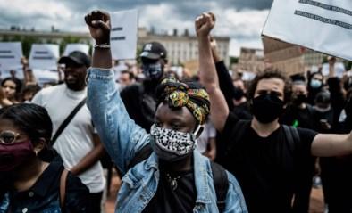 """Wereldwijd betogingen tegen racisme, ook in Antwerpen: """"Wie zich niet aan de coronamaatregelen hield, is aangesproken"""""""