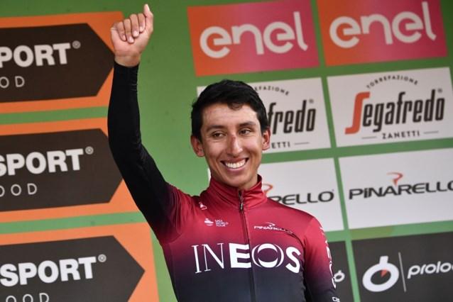 """Egan Bernal mikt op de Giro in 2021: """"Alle drie de grote rondes winnen"""""""