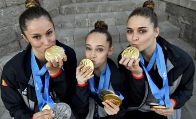 Vijf gymnasten uit het acro zetten punt achter hun carrière