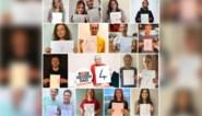 Waarom bekende Vlamingen op sociale media poseren met een wit blad met een cijfer op