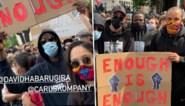 """François en Carla Kompany betoogden mee met Black Lives Matter: """"Hoe vaak hebben wij niet gehoord: vuile zwette. Dat moet stoppen"""""""