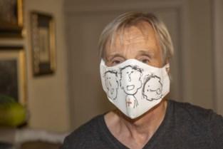 Christian Silvain maakte mondmaskers om ziekenhuizen te steunen