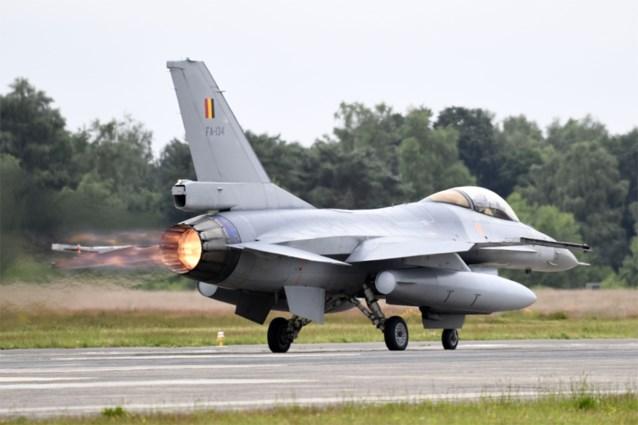 Belgische leger lost Nederlanders af: F-16's in Florennes verantwoordelijk voor bewaking Benelux-luchtruim