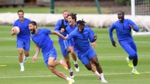 Het leverde een heerlijke foto op, maar Michy Batshuayi was wel kop van jut op training bij Chelsea