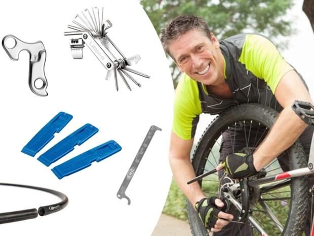 Eerste hulp bij pech onderweg: onze Bicycle Guy leert je wat je nodig hebt om je fiets te herstellen
