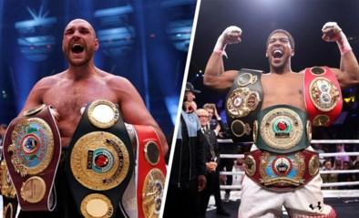 """Niet één maar twee superkampen op komst tussen Tyson Fury en Anthony Joshua: """"Groter dan dit wordt het niet"""""""