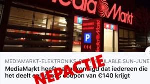 'Waardebonnen' Colruyt, Lidl en Mediamarkt zijn phishingberichten