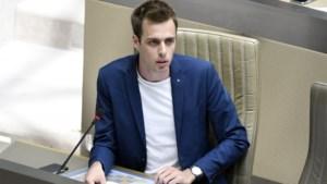 Vlaams Belang wil PVDA'er uit parlement door besmettingsgevaar, voorzitter Homans weigert