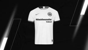 Eintracht Frankfurt bekampt Bayern met uniek en nu al uitverkocht shirt #blacklivesmatter