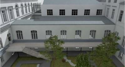 Studenten krijgen vier binnentuinen