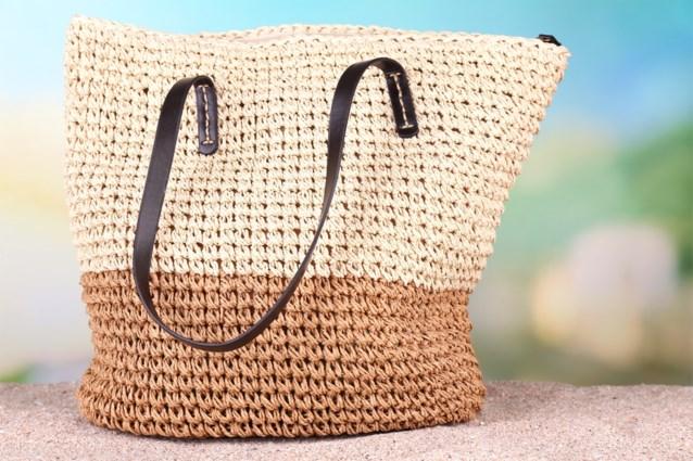 TREND. Gevlochten tassen en niet voor op het strand