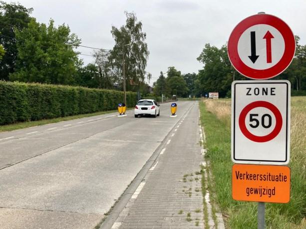 Bestuur plaatst 'verkeerspoort' in Tiensestraat
