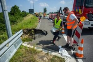 Wegverzakking op E314 in Wilsele richting Brussel hersteld