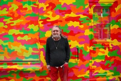 """Gent verliest kleur nu kunstenaar Sleppe (66) is overleden: """"Ik ben geen oude hippie, ik ben gewoon een hippie"""""""