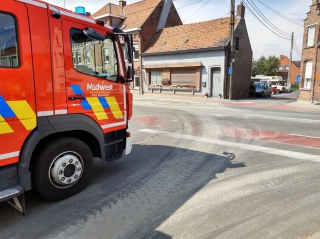 Opruimen beton zorgt even voor verkeershinder