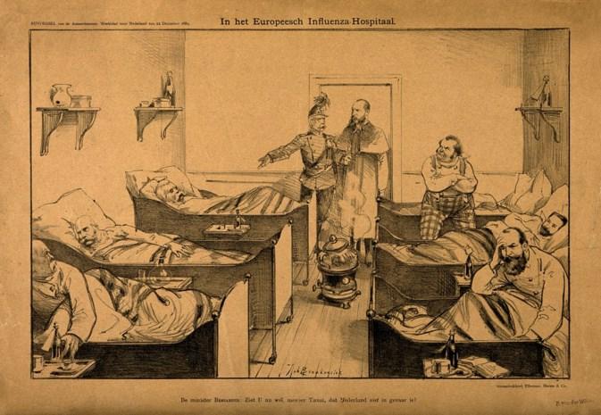 Eiste het coronavirus in 1890 al een miljoen levens in Europa? Marc Van Ranst gelooft dat het kan
