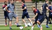 1A-clubs trainen opnieuw: Antwerp start zonder Lamkel Ze, KRC Genk met 23 spelers op het veld