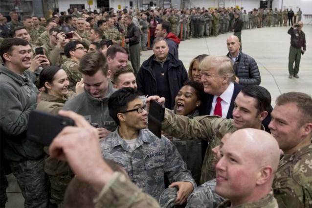 """Trump: """"Tot Duitsland betaalt, trekken wij Amerikaanse soldaten terug"""""""