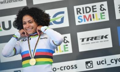 """Wereldkampioene Ceylin del Carmen Alvarado wil Mathieu achterna: """"Mountainbiken op de Spelen van Parijs"""""""