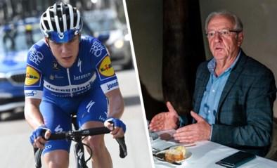 """Remco Evenepoel wint Virtual Baloise Belgium Tour en viert dat met... kinderchampagne: """"Ik weet niet hoe echte smaakt"""""""