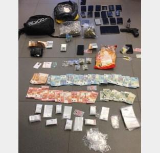 Politie betrapt twee mannen met één kilogram speed op zak