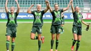 Vrouwen van Wolfsburg kronen zich voor de vierde keer op rij tot landskampioen