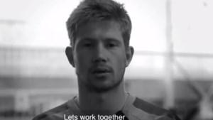 """De Bruyne en Guardiola steunen Black Lives Matter-beweging in videoboodschap: """"Laten we samenwerken"""""""