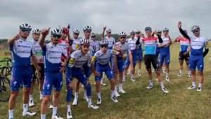 Mooi gebaar: ex-ploeg Deceuninck - Quick-Step wenst Niki Terpstra een spoedig herstel na zware val