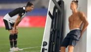Hij pronkte met zijn workouts, maar twee matchen na de corona-onderbreking ligt Cristiano Ronaldo al onder vuur