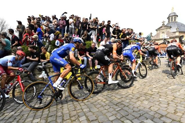BK wielrennen pakt uit met passage over Muur van Geraardsbergen