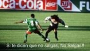 Vedetten van WK 1990 gebruiken hilarisch doelpunt om coronamaatregelen te promoten