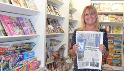 """Marleen (66) sluit na 39 jaar haar krantenwinkel: """"Ooit overvallen door een gewapende man, maar corona was het ergste"""""""