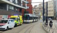 Fietser gewond na frontale botsing met tram
